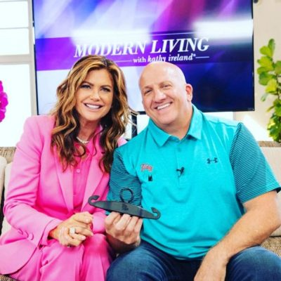 Christopher Guerrera Discusses TidyHook on Modern Living with Kathy Ireland